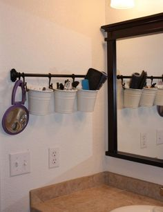 Bathroom storage idea