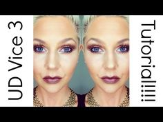 Urban Decay Vice 3 Palette Tutorial | Intense Neutral Smokey Eye! - YouTube