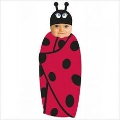 Dress your baby in a cute ladybug dress or outfit well you come to