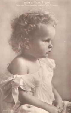 His Royal Highness Prince Wilhelm Victor Freund of Prussia (1919-1989)    Pinned because this looks SO like my lydia!