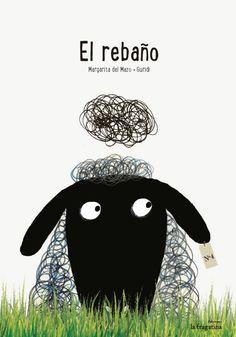 El rebaño (disponible en catalán) Autor: Margarita del Mazo Ilustraciones: Guridi Editorial: la fragatina, 2014