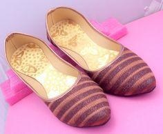Royal Look Traditinol Indian Rajasthani Handmade mojri /mojari/khussa shoe/Juti/jooti/Party Wear Work Mojari/Women Fashion Flats Khussa shoe by pinkcityhandmade on Etsy