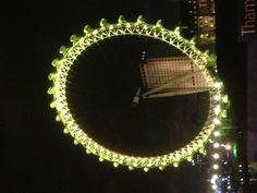 London Eye-New Years London Eye, Ferris Wheel, Scenery, Fair Grounds, Landscape, Paisajes, Nature