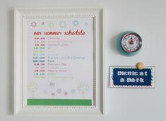 135Our Summer Schedule