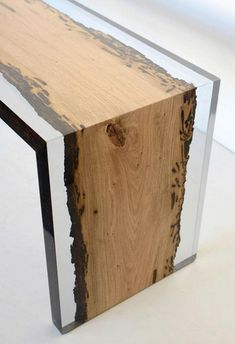 If you wish to have a special wood table, resin wood table may be the choice for you. Resin wood table furniture is the right type of indoor furniture since it has the elegance and provides the very best comfort in the home indoor or outdoor. Resin Furniture, Wooden Furniture, Cool Furniture, Furniture Design, Furniture Ideas, Furniture Dolly, Furniture Movers, Industrial Furniture, Wood Table Design