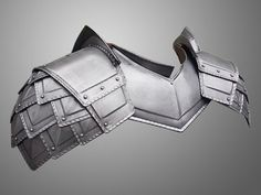 Dwalin's Regal Dwarf Armour - Pair of Steel Pauldrons&Gorget