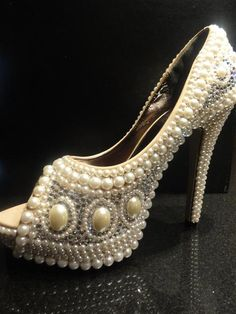 #Pearl #Wedding #shoes Collection