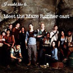 Meet the maze runner cast