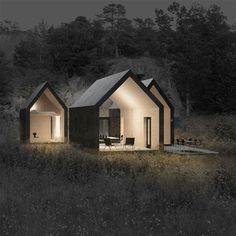 Architecture of Doom — vjeranski: Herfell Cabin Larvik, Norway, 2011