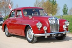 The MG Magnette Z Series - Classic cars from the 1930's