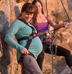Mountain Mama: Expecting Adventure — The Mountain Mama by Mad Rock: Climbing Harness for Pregnancy