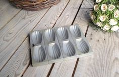 Madeleine Pastry Mold For 8 Madeleines - French Kitchen Vintage by My French Bric-a-Brac on Gourmly