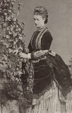 Princess Alexandra of Wales. Mids 1870s. - Post Tenebras, Lux .