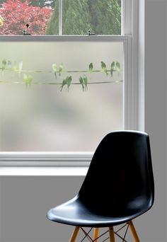 Window film is an easy and affordable way to update your home, and it has all sorts of practical and decorative uses. Here are a few ideas to get you started, along with details of an exclusive discount from Purlfrost. Window Privacy, Window Screens, Window Coverings, Glass Film Design, Basement Windows, Window Films, Old Windows, Window Dressings, Minimalist Home