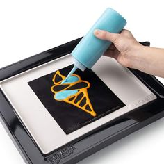 Become an artist in the morning with the PanGogh pancake griddle kit. Just mix some pancake mix with food coloring into the included bottles and you're on. Pancake Art Kit, Pancake Face, Pancake Ideas, Cool Kitchen Gadgets, Cool Kitchens, Kitchen Stuff, Pancake Designs, Black Toilet Paper, Portable Led Lights