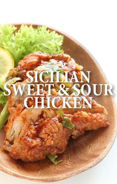 Rachael Ray served up a fresh and delicious dinner of Sicilian-Style Sweet and Sour Chicken Recipe which is going to win hands-down over takeout every time. http://www.recapo.com/rachael-ray-show/rachael-ray-recipes/rachael-sicilian-style-sweet-sour-chicken-recipe-charred-peppers/
