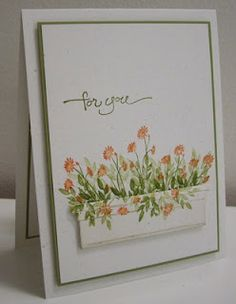 Stamping with Loll: Set of Spring Flower Box cards