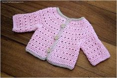1204 Best Crochet Baby Sweaters Images In 2019 Crochet For Kids