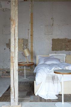 Nicely distressed bedroom