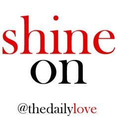 Visual Inspiration: Shine On!