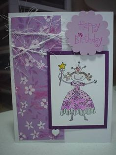 Pretty Princess by traceyc0103 - Cards and Paper Crafts at Splitcoaststampers
