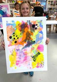 Abstract Scraper Painting - Kids Art Classes, Camps, Parties and Events - Small Hands Big Art-- Abstract Scraper Painting – Small Hand Big Art – Charlotte NC Scrape Painting, Kids Art Class, Art Lessons For Kids, Art Kids, 5th Grade Art, Ecole Art, Art Activities, Nutrition Activities, Nutrition Education
