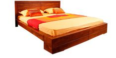 Buy Osage King Size Bed by Evok by Evok online from Pepperfry. ✓Exclusive Offers ✓Free Shipping ✓EMI Available