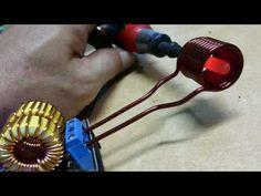 DC 12v - 120 watts Induction Heating. - YouTube