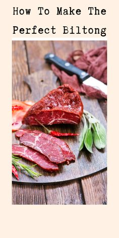 Happy Healthy, Healthy Life, Healthy Food, Healthy Living, Healthy Recipes, Biltong, Remedies, Meat, How To Make