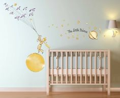 Le Petit Prince Stars Wall Decal Sticker Art Kids Room | eBay