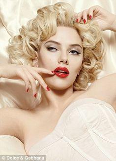 Marilyn Style #Marilyn #Monroe #Hair #Makeup #Pinup