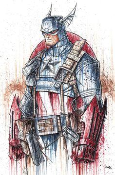 Rob Duenas Avengers Captain America