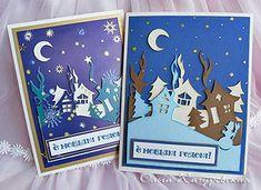 Картинки по запросу новогодние открытки своими руками детские
