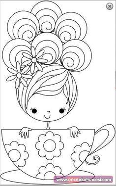 Harika Boyama Sayfalari Once Okul Oncesi Ekibi Forum Sitesi Biz Bu Isi Biliyoruz Boyama Sayfalari Bebek Aplike Desenler