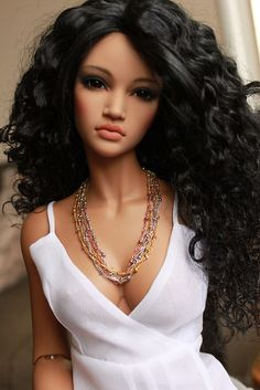 Let's be candid. - Expolore the best and the special ideas about Fashion dolls Beautiful Barbie Dolls, Pretty Dolls, Cute Dolls, Barbie Dress, Barbie Clothes, Realistic Dolls, Living Dolls, Black Barbie, Jolie Photo