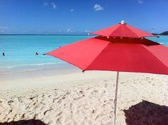 Red Umbrella | Valley Church Beach | Antigua