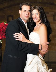 Okay it's not Lincecum . Nicole Vogelsong and Ryan. What a beautiful couple.
