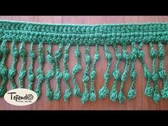 Flecos de piñas. Crochet Lace, Crochet Stitches, Crochet Embellishments, Crochet Videos, Lana, Macrame, Crochet Necklace, Youtube, Pattern