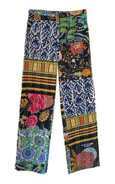 Patchwork Jeans, Print Chiffon, Cotton Pants, Looks Great, Trousers, Clothes For Women, Collection, Bright Clothes, White Blouses