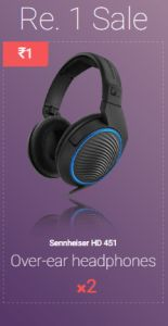 Hi guys remember Eyezon app which gave usfree paytm cashfor referring friends But now it has come up with another excellent offer.  Eyezon has launched an Flash sale where you cangrab Sennheiser Over Ear Headphones worth 5000 at just RS 1.  Sennheiser is an International brand which is well known for its quality audio products and The head phones are awesome. So dont miss it guys and all you have to do is just follow simple steps written below.  Still If You Dont Know About Eyezon Then  About Ey Over Ear Headphones, Sennheiser Headphones, Web Platform, Electronic Items, Bounty Hunter, International Brands, Cool Things To Make, Good Music