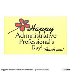 Happy Administrative Professional's Day Banner