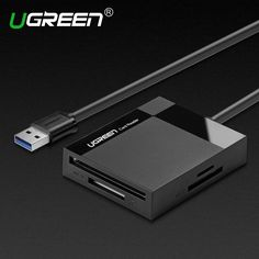 11.86$  Watch now - http://ali39o.shopchina.info/go.php?t=32437175216 - Ugreen All in 1 USB 3.0 Smart Card Reader Flash Multi Memory Card Reader USB for TF for SD for CF for MS Card Adapter  #magazine