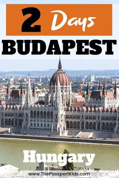 The best way to spend 2 days in Budapest, Hungary! An easy Budapest itinerary to help you explore Budapest in 48 hours with kids. A MAP included for all the best places to visit like Buda Castle, Fisherman's Bastion, Matthias Church, Szechenyi Chain Bridge, Hungarian Parliament, Széchenyi Thermal Bath, Danube River, City Park and so much more! #budapest #hungary #chainbridge #buda #pest #MatthiasChurch #FishermansBastion #danuberiver Visit Budapest, Budapest Travel, Budapest Hungary, Cruise Excursions, Cruise Destinations, European Destination, European Travel, Best Places To Travel, Cool Places To Visit