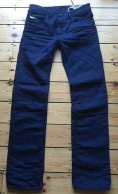 cf084868 Mens Diesel Jeans Waykee 008QU 28 x 32 Regular Straight Authentic New  RRP£160 Diesel