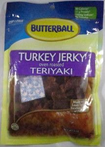 Discover how Butterball - Oven Roasted Teriyaki turkey jerky fared in a jerky review. http://jerkyingredients.com/2014/12/07/butterball-oven-roasted-teriyaki-turkey-jerky/ #turkeyjerky #food #ingredients #jerky #review