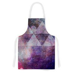 Kess InHouse Suzanne Carter 'Geometric Stars' Artistic Apron