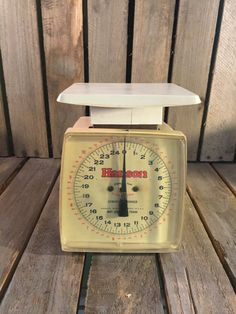 Vintage Hanson 24lb Family Scale by UpTheAntiqueCo on Etsy
