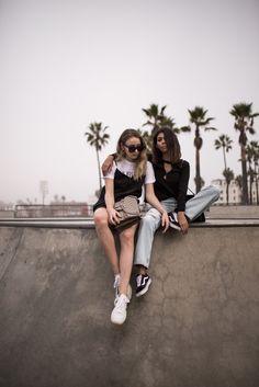 Jeans Slipdress Ganni Murphy Shirt Venice Skate Park Los Angeles The-Limits-of-Control-Fashion-Fashionblogger-Blogger-Berlin-Deutschland-Modeblog-Modeblogger