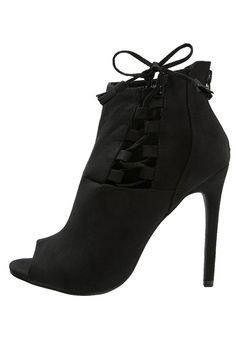 New Look SCAN Ankle boot black