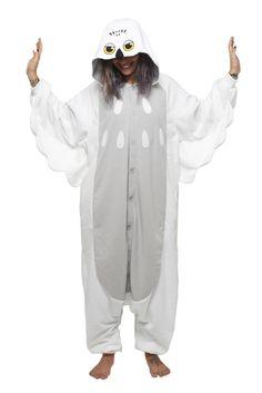 Snowy Owl Kigu | Be the wisest of them all in a soft Kigu Snowy Owl Onesie